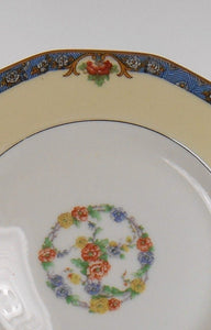 HAVILAND china LANGEAIS France set of 8 Fruit Dessert Berry Bowls & 1 Soup Bowl