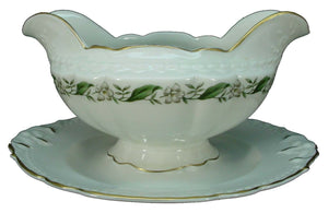 VOGUE (Royal Jackson) china OLD CHARLESTON pattern GRAVY BOAT