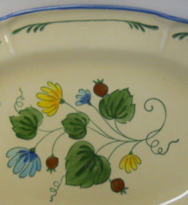 METLOX china GIGI pattern Cup and Saucer