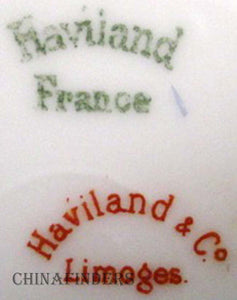 HAVILAND & Co. Floral Garland H3499 Swag Fruit Berry Bowl