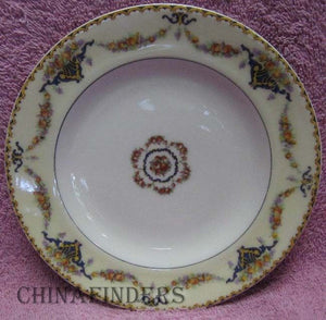 HAVILAND china France POMONA pattern Bread Plate - Set of Two (2) - 6-3/8""