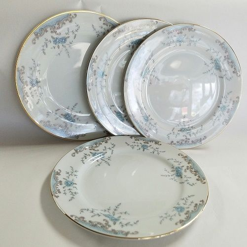IMPERIAL china SEVILLE 5303 W.Dalton 4 bread plates 6-1/2