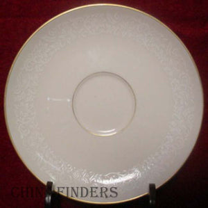 PICKARD china LACE pattern SAUCER Only LOT of 8