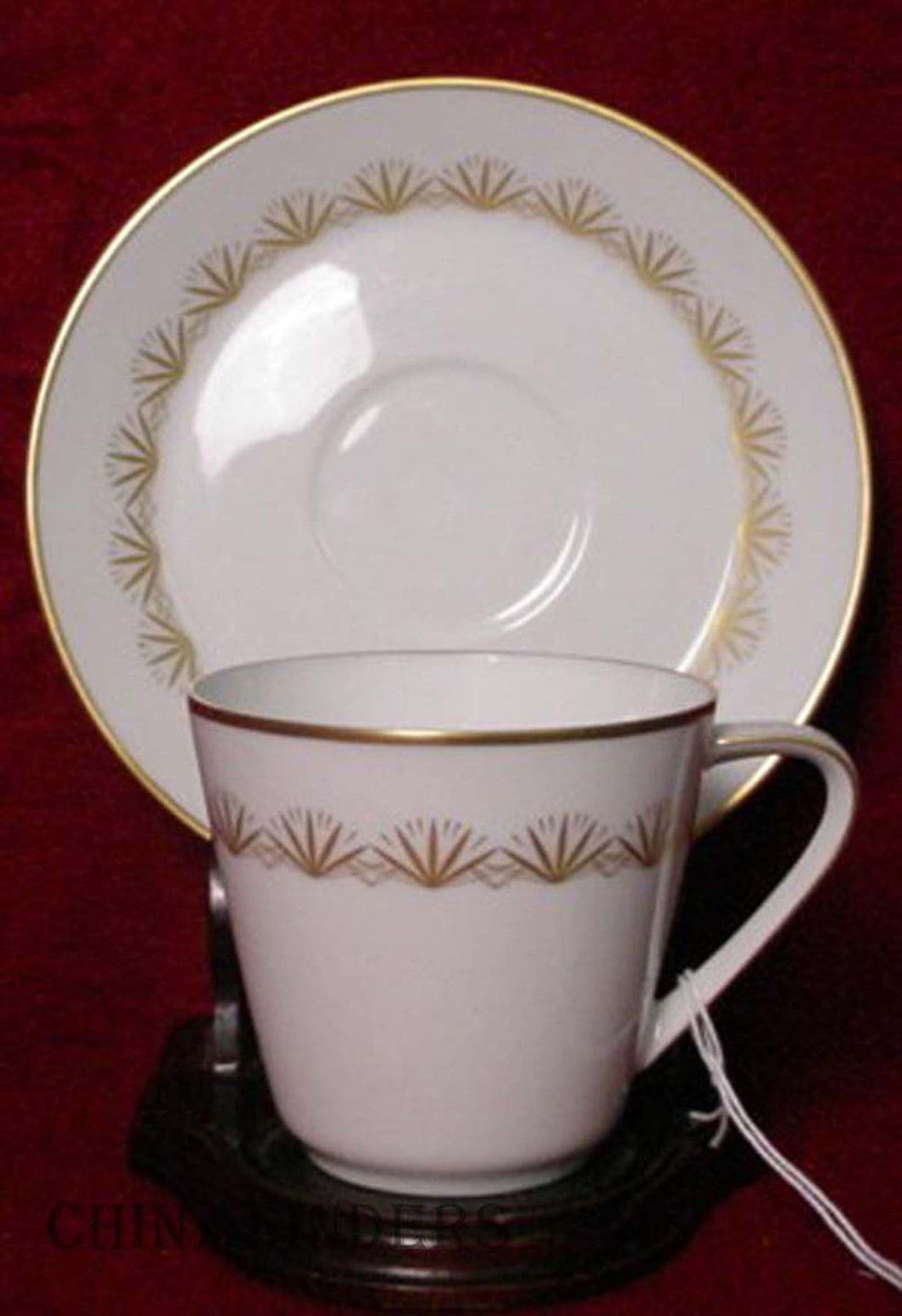 HUTSCHENREUTHER china CHERRYWOOD 1105 pattern Cup & Saucer