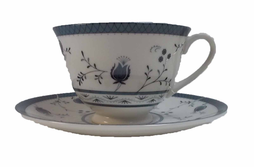 ROYAL DOULTON china CAMBRIDGE TC1017 pattern CUP & SAUCER Set