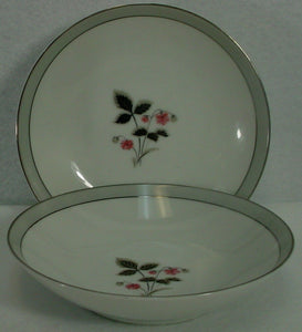 "NORITAKE china GRAYSON 5697 pattern FRUIT BERRY BOWL 5-5/8"" set of TWO (2)"