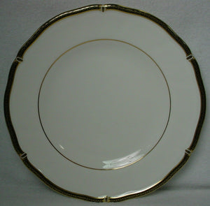 WEDGWOOD china WINDSOR BLACK pattern SALAD PLATE 8""