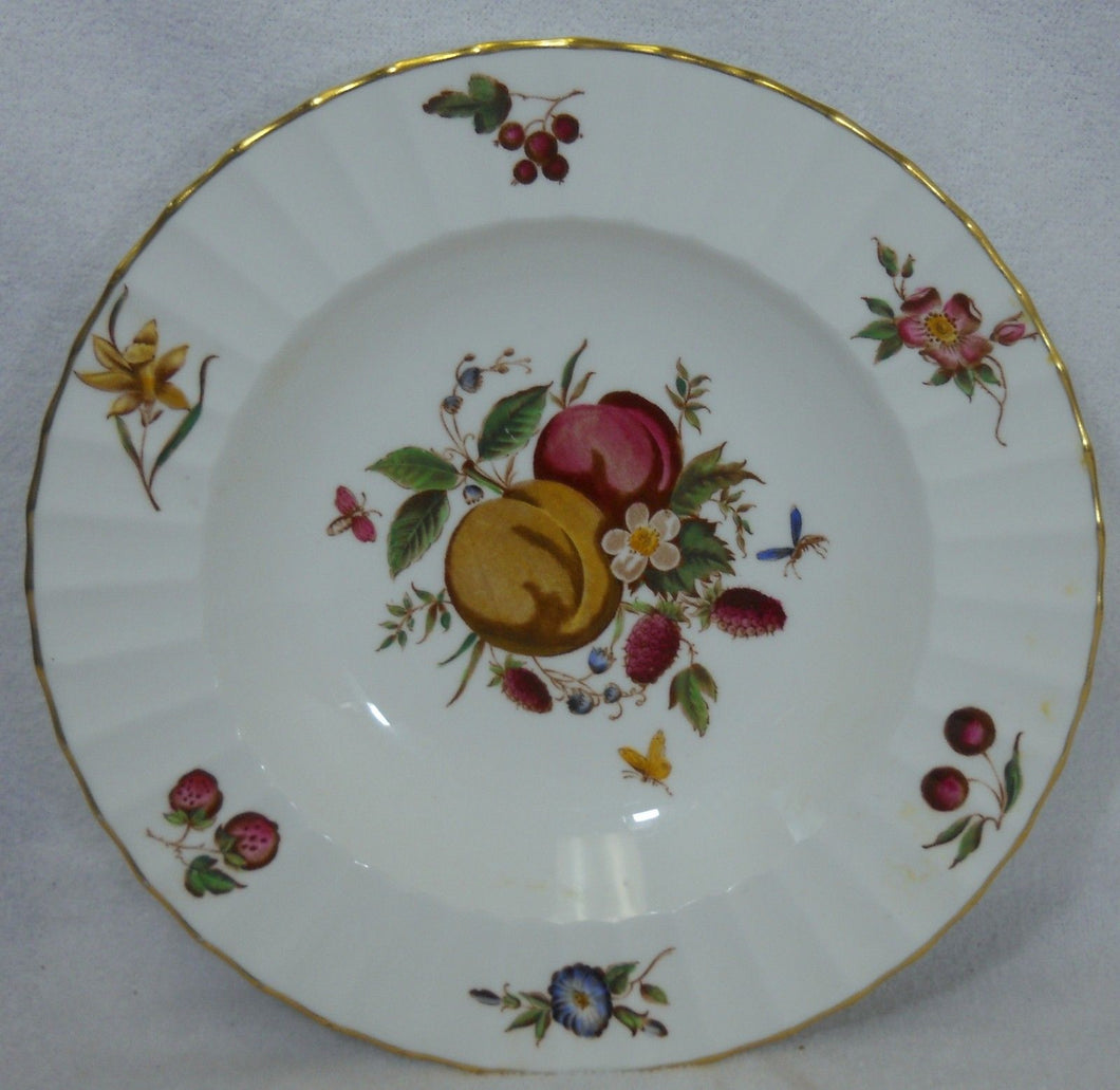 ROYAL WORCESTER china DELECTA Z2819 Warmstry Ribbed Soup or Salad Bowl @ 8