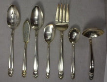 INTERNATIONAL Silverplate DANISH PRINCESS pattern 7-piece Hostess Set