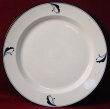 DANSK china BAYBERRY BLUE pattern Japan CHOP PLATE Round Platter 13-1/4""