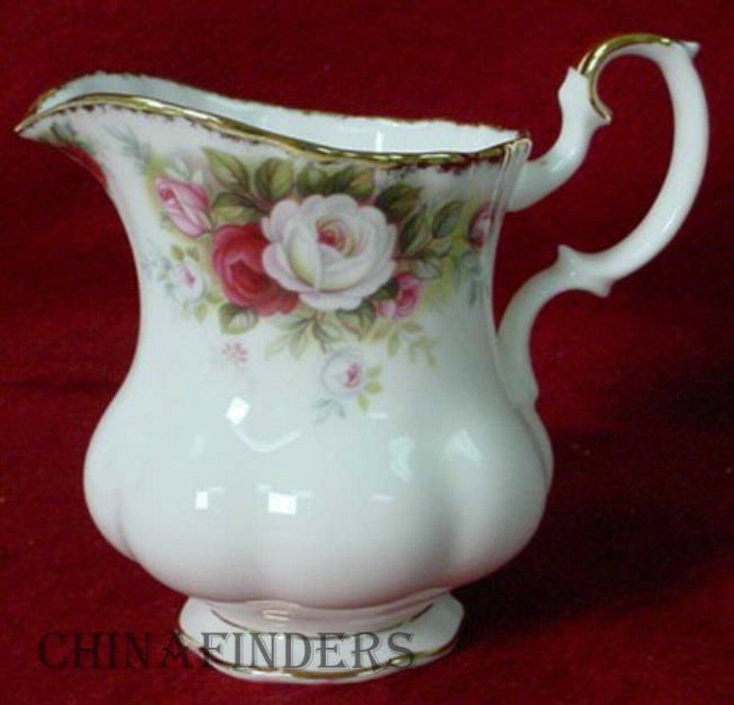 ROYAL ALBERT china CELEBRATION pattern Creamer, Cream Pitcher or Jug @ 3-7/8