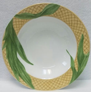 222 Fifth (PTS) china RAINFOREST Large soup bowl 9 1/8""