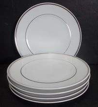 BLOCK china CHATEAU D'ARGENT pattern Set of Five (5) Bread Plates @ 6 1/8""