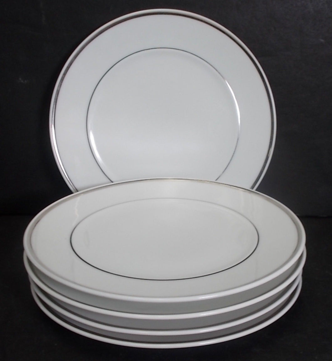 BLOCK china CHATEAU D'ARGENT pattern Set of Five (5) Bread Plates @ 6 1/8