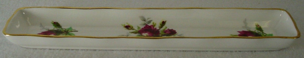 HAMMERLSEY china GRANDMOTHER'S ROSE pattern MINT TRAY 8-5/8