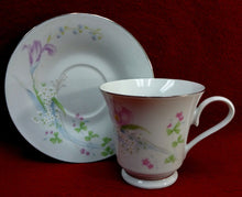 STUDIO NOVA china PINK VISTA 22-Piece LOT - Cup Saucer Salad Soup Oval Platter