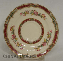 GRINDLEY china CONNAUGHT pattern Set of Five (5) Saucers