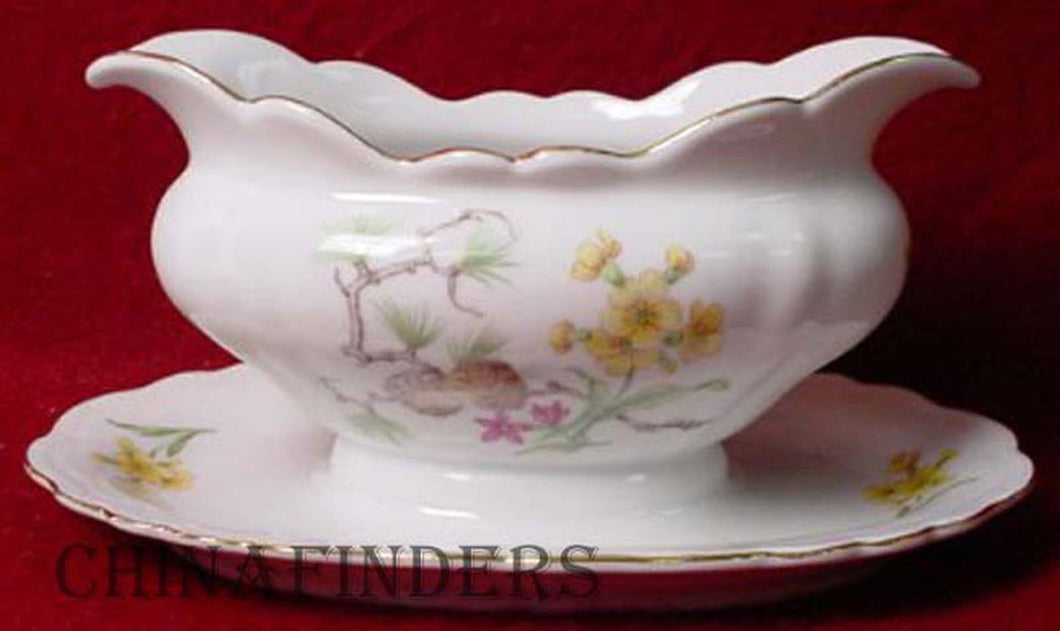 JAEGER & Co. china ALPINE pttrn GRAVY BOAT