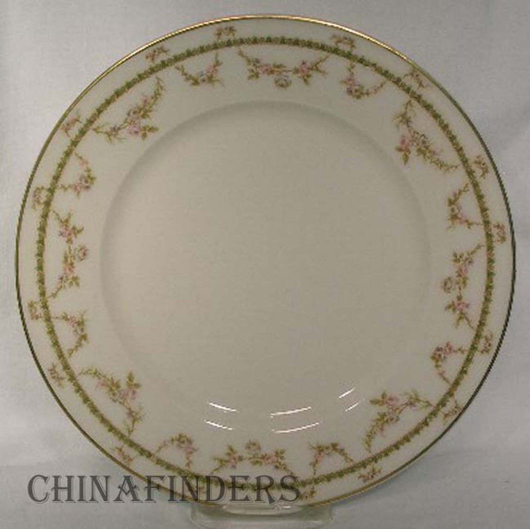 HAVILAND Limoges china SCHLEIGER 883 pattern Dinner Plate @ 9-3/4