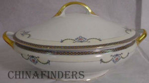 NORITAKE china GLENEDEN pattern 71221 Ov. Cov VEGETABLE