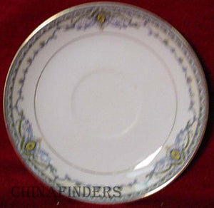 NORITAKE china The VENICE pattern SAUCER Only