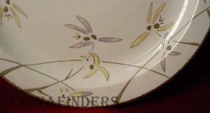 MIDWINTER china WILD ORCHID pattern Cereal Bowl @ 6-1/2""