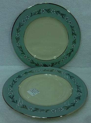 FRANCISCAN china DEL RIO pattern Set of Two (2) Salad Plates - 8-3/8