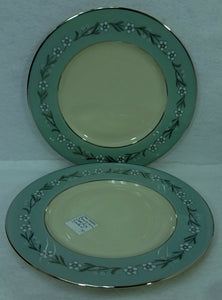 FRANCISCAN china DEL RIO pattern Set of Two (2) Salad Plates - 8-3/8""
