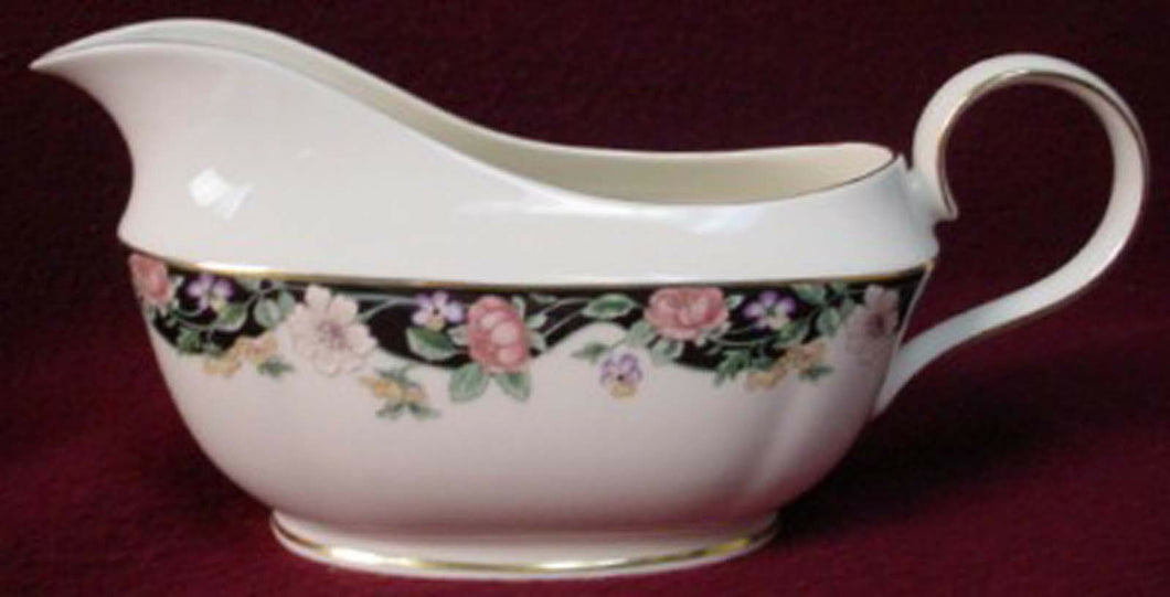 LENOX china PRAIRIE BLOSSOMS pattern GRAVY BOAT no underplate
