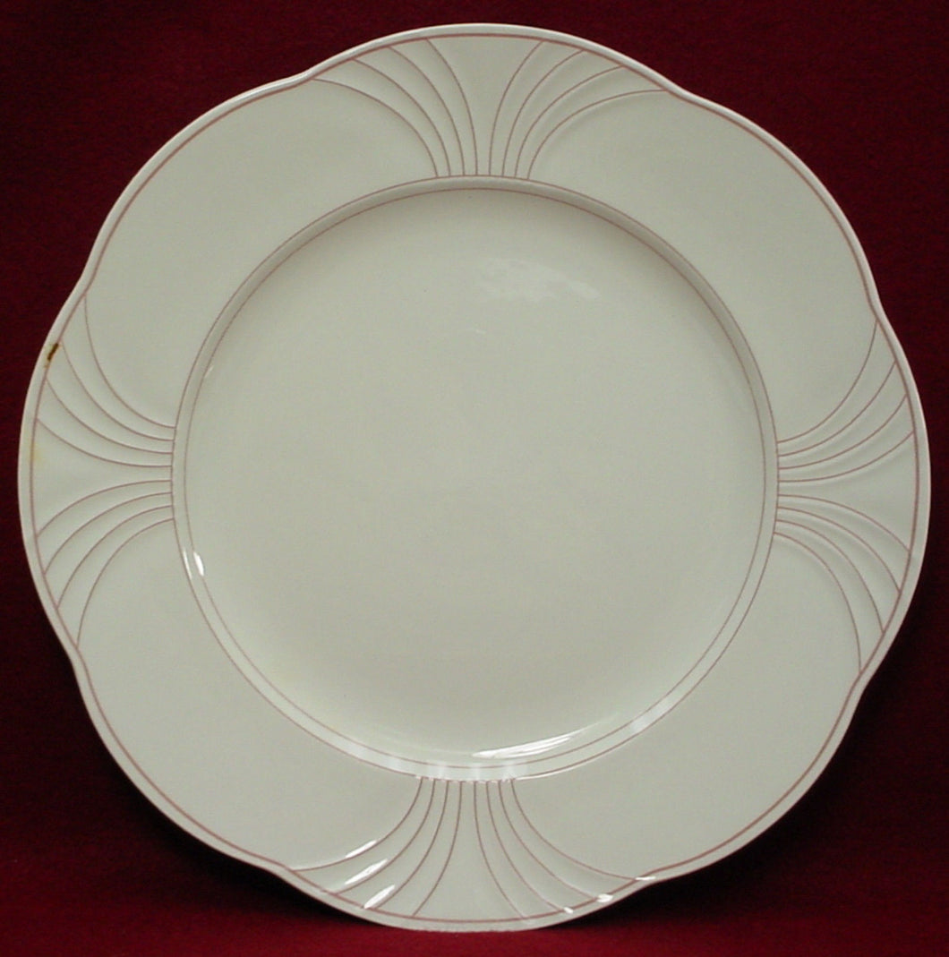 VILLEROY & BOCH china PALATINO scalloped CHARGER Service CHOP PLATE 12-3/8