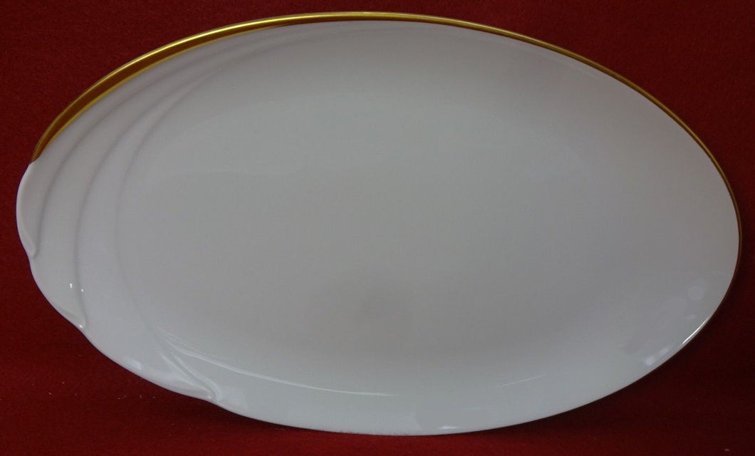 HUTSCHENREUTHER china MONDIAL pattern Oval Serving Platter - 12-1/4