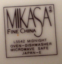 MIKASA china MIDNIGHT L5542 pattern Soup or Salad Bowl - 8-1/2""