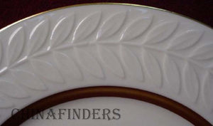 HAVILAND china EMBASSY pattern BREAD PLATE - Set of Two (2) - 6-1/2""