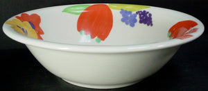 VILLEROY & BOCH china MADAME pattern COUPE SOUP or SALAD or PASTA BOWL 8-1/4""