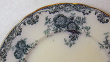 ALFRED MEAKIN china GLENMERE Blue-Green pattern Luncheon Plate - 9""
