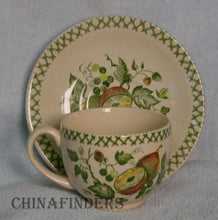 "JOHNSON BROTHERS china ARBOR pattern CUP & SAUCER Set 2-5/8"" Cup"