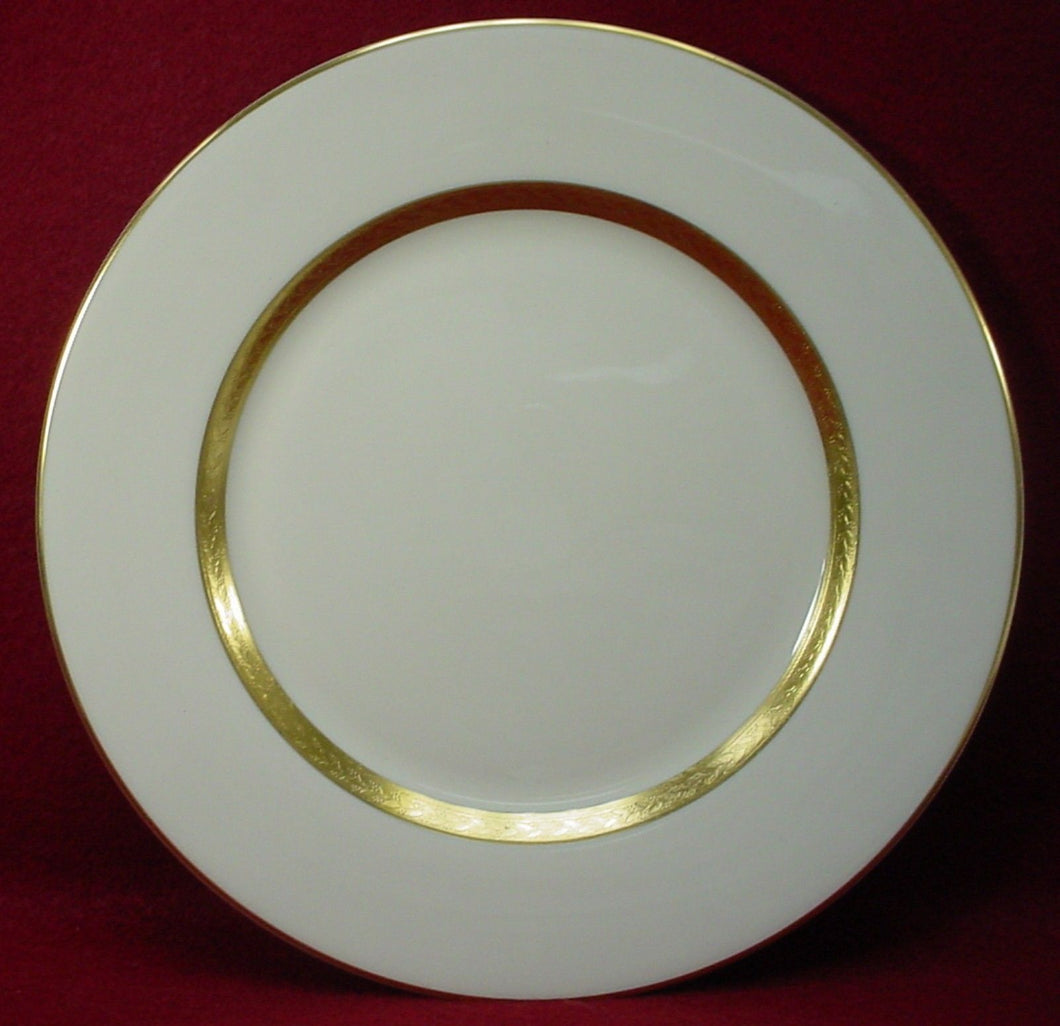 HAVILAND china CRILLON IVORY pattern SALAD PLATE 7-5/8