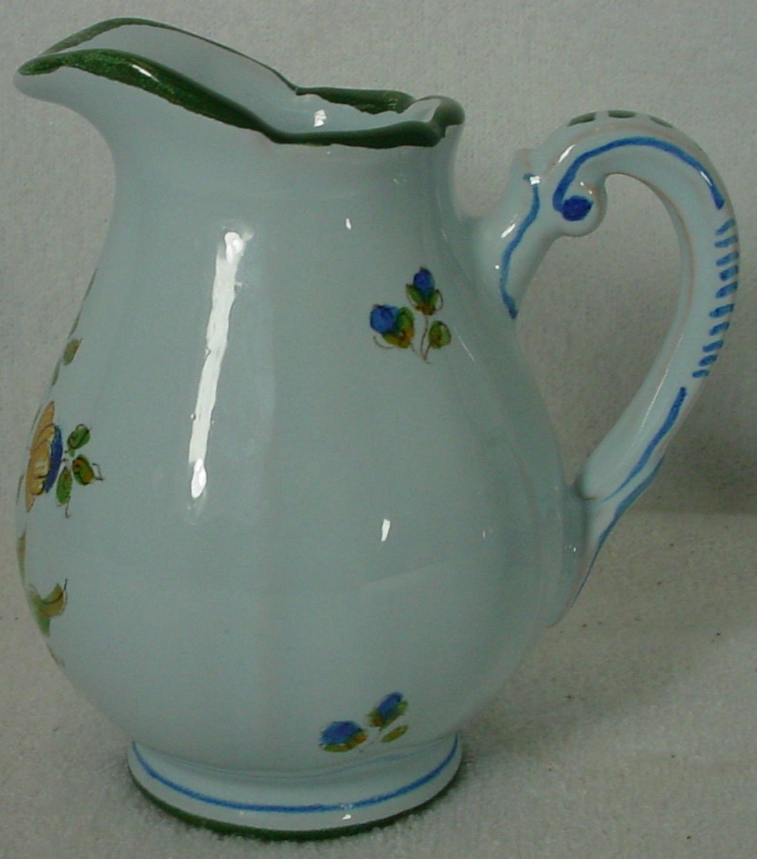 IMOLA china COOP FLORAL iml6 pattern CREAMER cream pitcher JUG 3-7/8