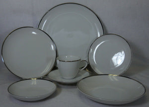 YAMATO Japan PLATINA 97-piece SET SERVICE for 12 - only 9 dinner plates