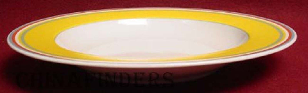 VILLEROY & BOCH china BEALA pattern Rim Soup/Salad Bowl @ 8 7/8