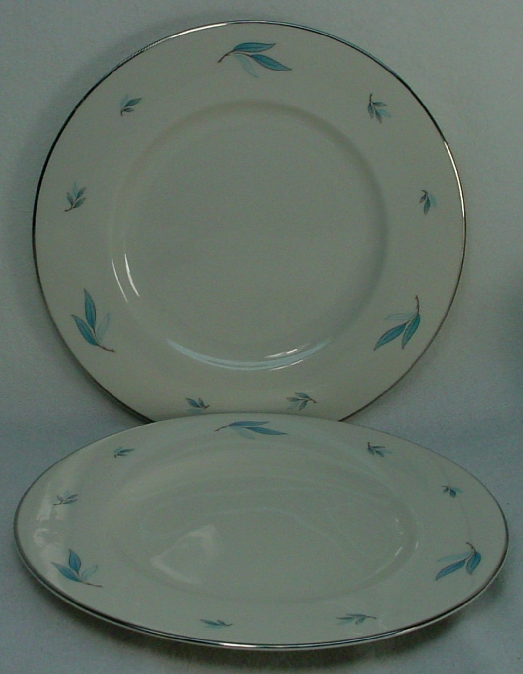 SYRACUSE china CELESTE pattern Dinner Plate - Set of Two (2) @ 10-1/4
