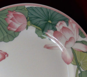 VILLEROY & BOCH china JADE pattern Large Rim Soup or Salad Bowl - 9-1/2""