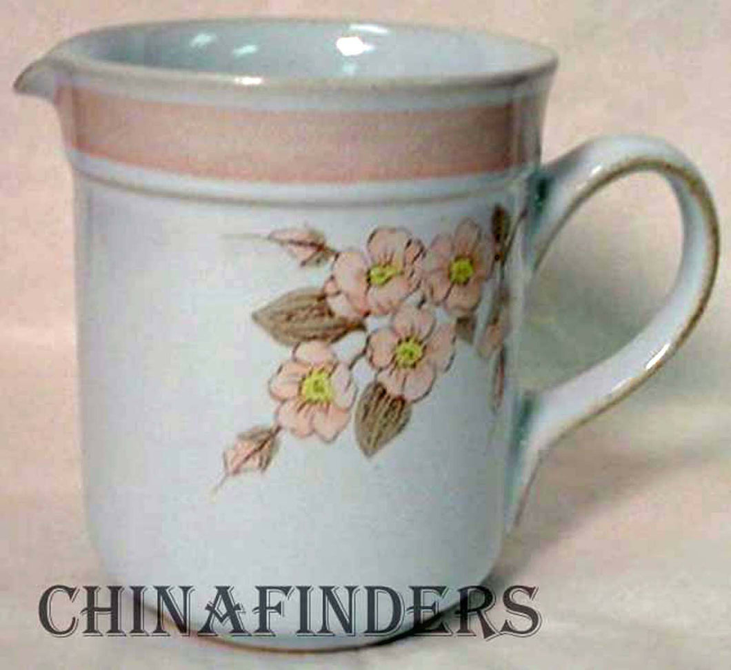 DENBY china NORMANDY pattern CREAMER cream pitcher JUG