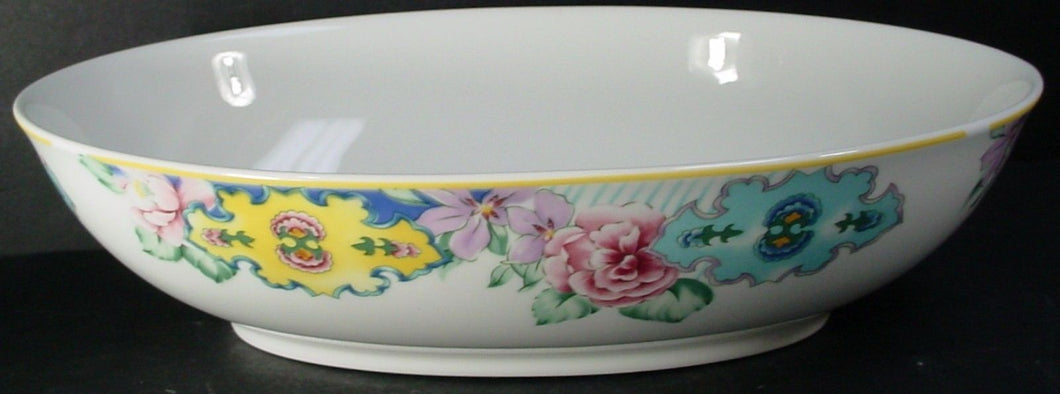 PFALTZGRAFF china MADELAINE pattern OVAL VEGETABLE Serving BOWL 10-1/2