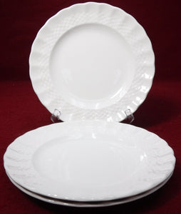 "SPODE china CHESEA WICKER C1890 pattern BREAD PLATE 6-1/2"" set of THREE (3)"