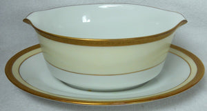 NORITAKE china ASTORIA pattern 2789 Gravy Boat