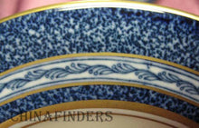 HAVILAND China MOSAIC Cobalt Blue Bread Plate