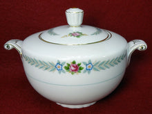 HOLLY china PEACOCK (Narumi Occupied Japan) Sugar Bowl & Lid