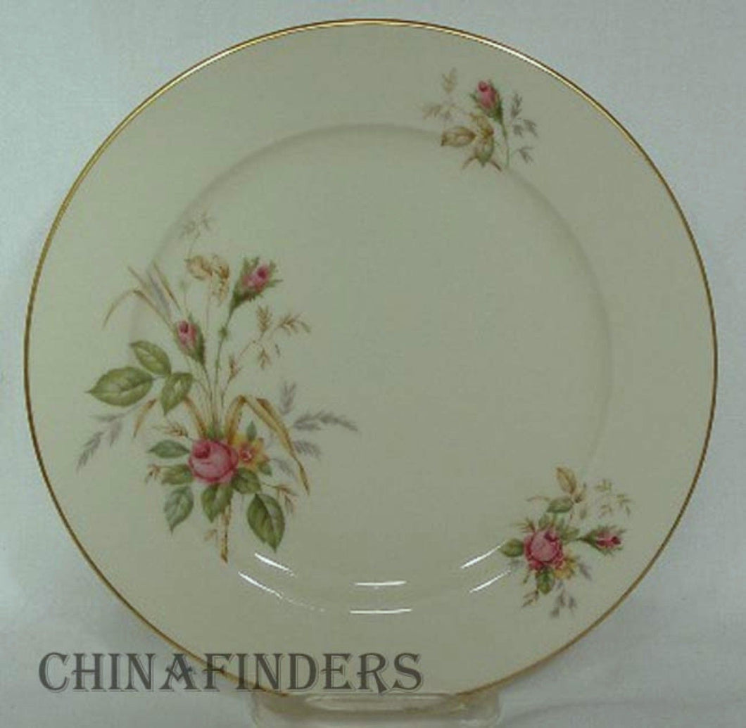 THOMAS Germany china THO07470 ROSES pattern Dinner Plate @ 9-7/8