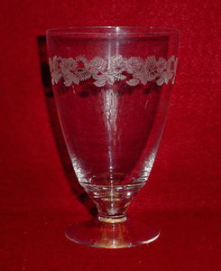 FOSTORIA crystal ROSEMARY pattern ICED TEA Glass